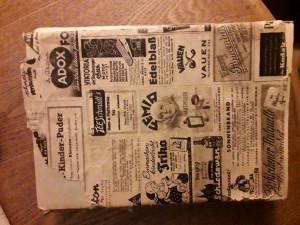 Senas laikraštis. Slaptai.lt nuotr.