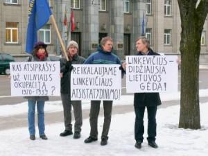 Dėl Vilniaus okupacijos (1)