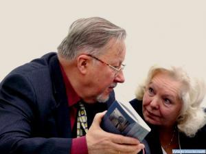 V. Landsbergis ir O. Gudžiūnienė