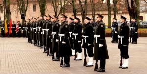 Garbės sargybos kuopai - 98 metai (9)