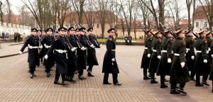 Garbės sargybos kuopai - 98 metai (12)