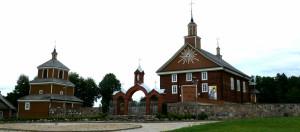 Labanoro bažnyčia ir varpinė