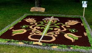 Floristinis kilimas 1