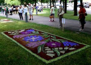 Floristinis kilimas 10