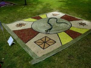 Floristinis kilimas 11
