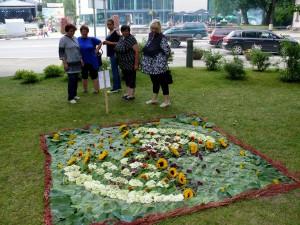 Floristinis kilimas 17