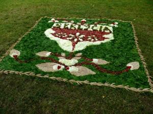 Floristinis kilimas 22