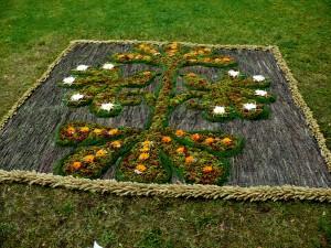 Floristinis kilimas 23