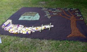 Floristinis kilimas 25