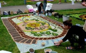 Floristinis kilimas 3