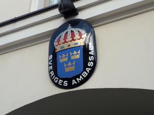 Švedijos ambasada. Slaptai.lt