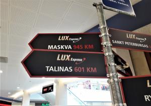 Ar toli iki Maskvos ir Talino. Slaptai.lt nuotr.