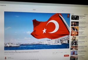 Turkijos vėliava. Slaptai.lt nuotr.