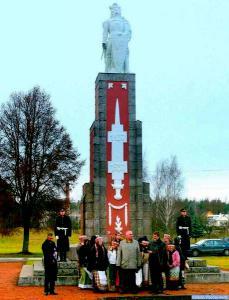 Minėjmo iškilmės vyko prie Vytauto Didžiojo paminklo