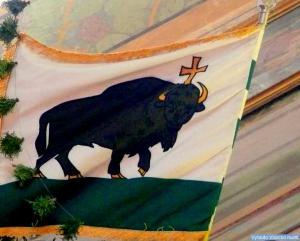Perlojos herbas vėliavoje
