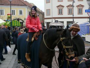 Pajodinėti Vilniaus senamiestyje - kodėl gi ne. Vytauto Visocko nuotr.