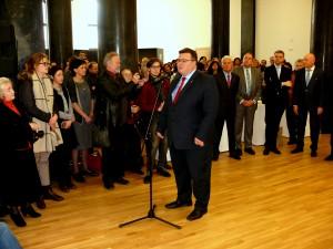 Kalba Užsienio reikalų ministras Linas Linkevičius