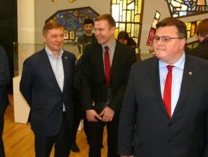 Renginyje dalyvavo ir Seimo narys Ramūnas Karbauskis