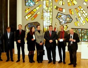 Renginyje dalyvavo ir Vokietijos ambasadorė Jutta Schmitz (centre)
