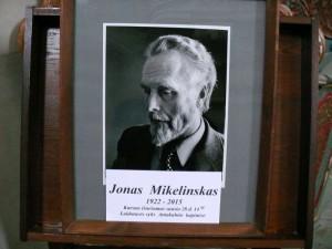 Rašytojo Jono Mikelinsko laidotuvės