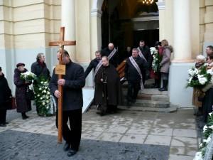 Rašytojo Jono Mikelinsko laidotuvės (2)