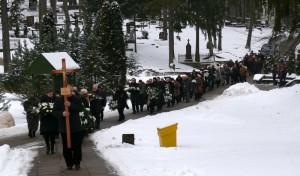 Rašytojo Jono Mikelinsko laidotuvės (3)