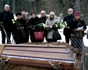 Rašytojo Jono Mikelinsko laidotuvės (6)
