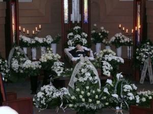 Rašytojo Jono Mikelinsko laidotyvės (1)