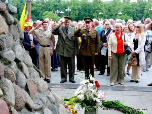 Gedulo ir vilties diena prie Genocido aukų muziejaus