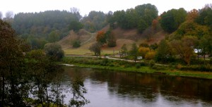 Alytaus piliakalnis rudenį