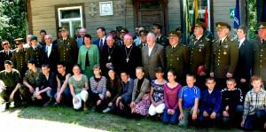 Nemunaityje. Minint Adolfo Ramanausko - Vanago partizanų priesaikos jubiliejų