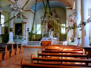 Rumbonių bažnyčios altorius