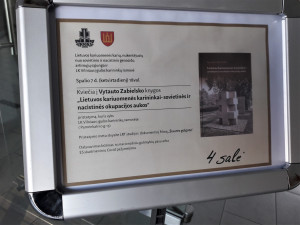 Knygos apie Lietuvos karininkus pristatymas. Slaptai.lt nuotr.
