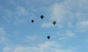 Oro balionai. Slaptai.lt nuotrauka