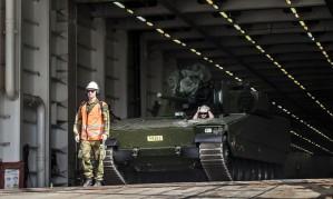 Norvegijos ginklai - Klaipėdos jūrų uoste (1)