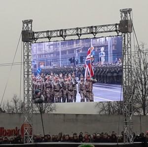 Didžiosios Britanijos kariai. Slaptai.lt nuotr.
