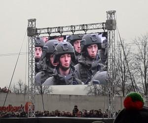 Karinis paradas Vilniuje. Slaptai.lt nuotr.