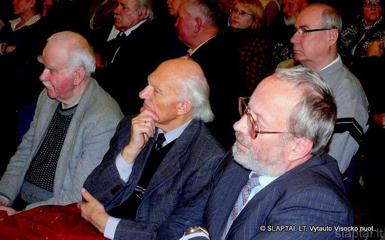 Intelektualai Ipolitas Ledas, Antanas Rybelis, Jonas Balčius