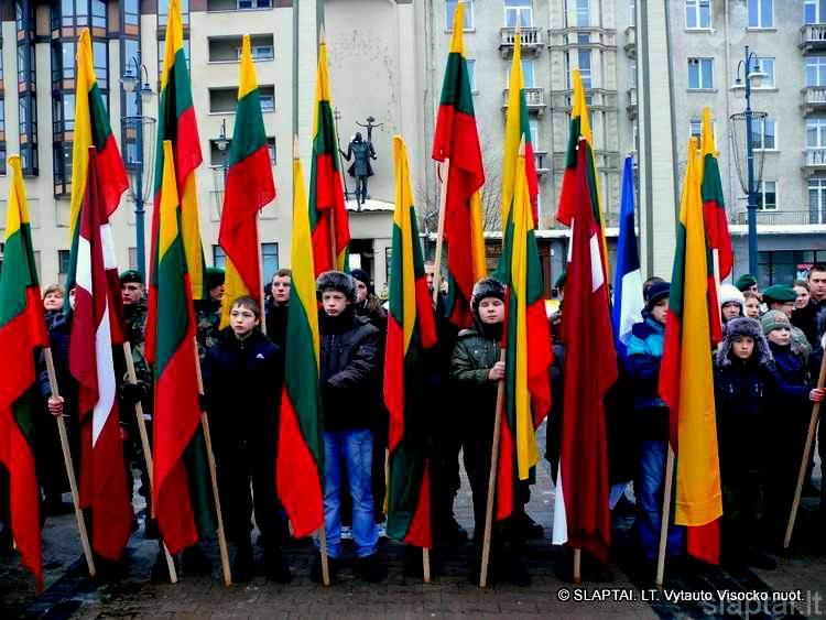 Vaikai Lietuvos Nepriklausomybės 20-mečio šventėje
