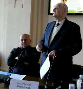 Prof. Arnoldas Piročkinas - apie prof. Olego Poliakovo darbus