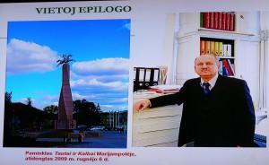 Prof. O.Poliakovas gyveno ir dirbo Marijampolėje