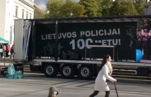 Lietuvos policijai - šimtas metų. Slaptai.lt nuotr.