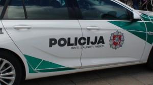 Policija - ginti, saugoti, padėti...