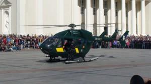 Policijos sraigtasparnis. Slaptai.lt nuotr.