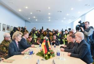 NATO priešakinės pajėgos - Lietuvoje (1)