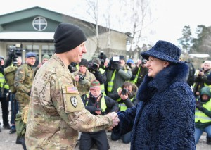 NATO priešakinės pajėgos - Lietuvoje (11)
