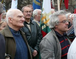 Antanas Rybelis ir Vytautas Radžvilas