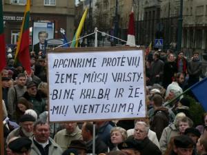 Protesto mitingas (1)