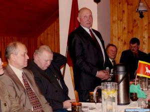 Kalba Lietuvos Vytautų klubo prezidentas Vytautas Juodka