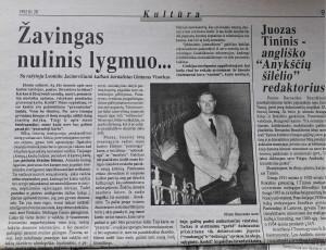 Leonidas Jacinevičius - apie žavingąjį nulinį lygmenį